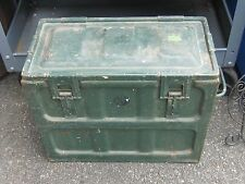Empty Metal Ammunition Ammo Can Crate Box