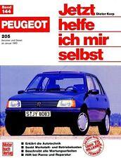 Peugeot 205, Benziner und Diesel. Jetzt helfe ich mir selbst von Gerhard Axmann