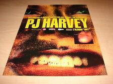 PJ HARVEY - CONCERT 1992!!!!!!!!!!!!!PUBLICITE / ADVERT