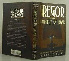 SUZANNE COLLINS Gregor and the Prophecy of Bane INSCRIBED FIRST EDITION