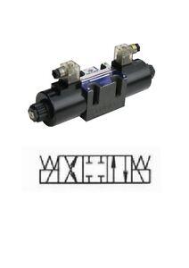 Hydraulikventil / 4/3-Wegeventil  12 Volt / Baugrösse NG 6_NG06011