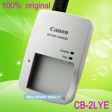 Genuine Original Canon CB-2LYE CB-2LY NB-6L Battery Charger for D10 SD770 NB-6LH