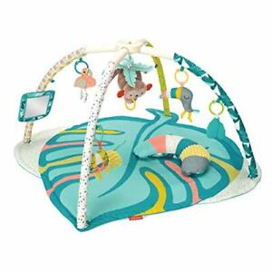 Infantino 4-in-1 Twist & Fold Activity Gym & Play Mat Tropical New.....