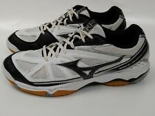 New listing Mizuno Womens Wave Hurricane 2 B/W Volleyball Shoes Size 10 M