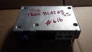 2006TRAILBLAZER SS 6.0 AWD COMMUNICATIONS COMPUTER MODULE 15812978