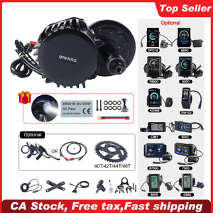 BAFANG BBSHD 52V 1000W 68-120mm BB Mid Drive Motor Conversion kits DIY Ebike