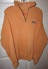Tommy Bahama Relax Orange Cotton Mens Long Sleeve Sweatshirt Medium