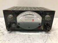 Vintage General Radio Frequency Meter and Discriminator Type 1142-A VERY RARE