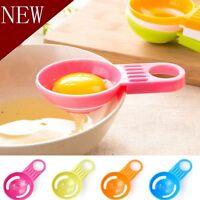 Newest Separator Plastic Holder Filter Egg Cooking Kitchen Tool Yolk Divider