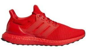 adidas UltraBoost Scarlet Triple Red Primeknit Mens Running Shoe NIB $180 8.5 12