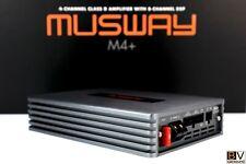 MUSWAY M4+ High-End Verstärker 4x135 Watt RMS 2Ω DSP 8 Kanal ISO Plug&Play AUX