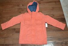NWT Baby GAP Boys ORANGE  Jacket Coat Size 6-7 NWT