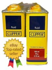 More details for clipper lighter refill fuel petrol universal lighter fluid cleaning home 100ml