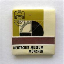 Deutsches Museum Munchen Aus der Abteilung Landverkehr Fiat Matchbook (MK66)