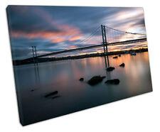La STRADA DI Forth Bridge Scozia a Muro ARTE foto di grandi dimensioni 75 x 50 cm
