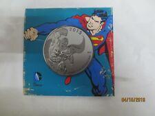 Canada 2016 $20 Superman Man Of Steel Silver Coin DC Comics™ Orignals