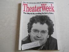 Jerry Zaks, John Guare - Theater Week Magazine 1990