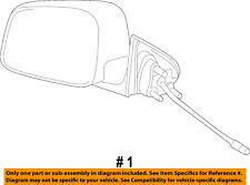 Jeep CHRYSLER OEM Outside Mirrors-Front Door-Power Mirror Left 68365717AC