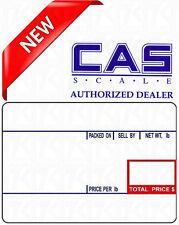 2 X QTYCAS LST-8010 Label 700/Roll 12 rolls CAS LP1000 CL5000 LPII LS100 8010