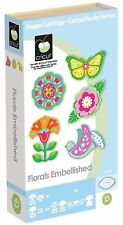 Cricut Florals Embellished Cartridge This cartridge is brand-new