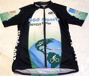 Louis Garneau unisex cycling jersey- Mens S, Womens L, Euro 4