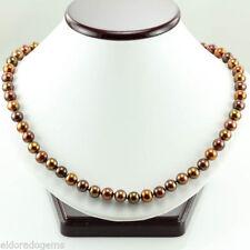 Collares y colgantes de joyería natural oro amarillo perla