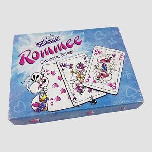 Diddl Rommee Canasta Bridge - Kartenspiel Kartendeck - 100% Vollständig