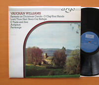 ZK 34 Vaughan Williams Fantasia On Christmas Carols etc ARGO Stereo NM/VG