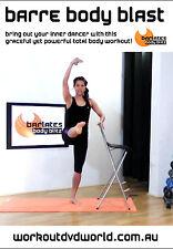 Ballet Barre EXERCISE DVD - Barlates Body Blitz - BARRE BODY BLAST!