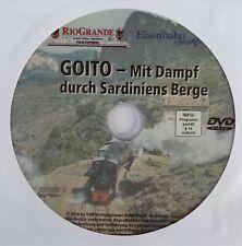 Eisenbahn DVD Video / GOITO / Mit Dampf durch Sardiniens Berge