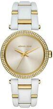 Michael Kors Women's MK4315 Delray Gold Tone Stainless Steel Ladies Watch