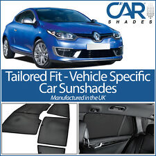 Renault Megane 3dr 2008-16 UV CAR SHADES WINDOW SUN BLINDS PRIVACY GLASS TINT