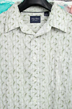 Indigo Palms by Tommy Bahama Mens Button Front Shirt Size L, Spring Blow Out!!