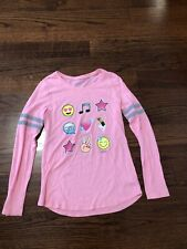 Girl's Justice Active Long Sleeve Top Size 12