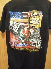Loudon Classics black graphic AMA 98 championship motorcycle races medium tshirt