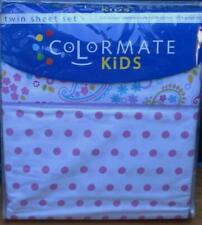 Colormate Kids Sheet Set - ABBY PLAID - BRAND NEW IN PACKAGE - TWIN SIZE