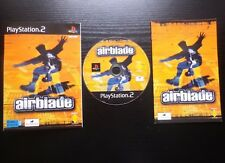 JEU Sony PLAYSTATION 2 PS2 : AIRBLADE (sport, glisse COMPLET envoi suivi)