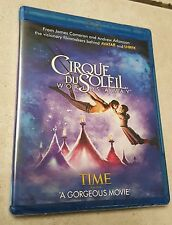 Cirque du Soleil: Worlds Away [Blu Ray, 2013] - Brand New & Sealed !!