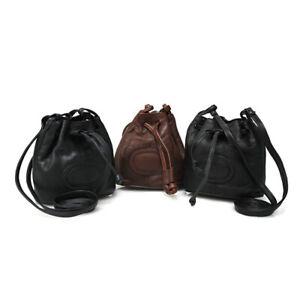 LEATHER DUFFLE BAG-30041