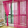 New Heart Line Tassel String Door Curtain Window Room Divider Curtain Valance