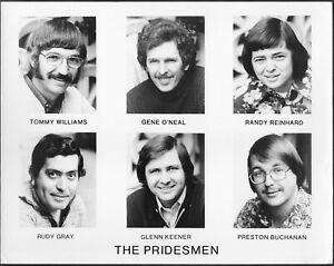 ~ The Pridesmen Charley Pride Band Original 1970s Promo Photo Country Music