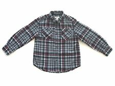 Boys Cherokee Long Sleeve Button Down Flannel Shirt Size S (6/7)