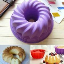 Spiral Ring Cooking Silicone Mold Kitchen Bread Cake Baking Tool