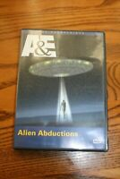 ALIEN ABDUCTIONS - THE UNEXPLAINED - A&E - DVD - WATCHED ONCE!!