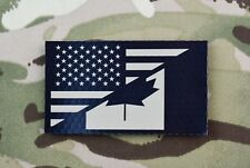 Infrared US/Canada Friendship Flag Patch US Canada Military IR VELCRO® Brand