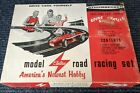 STROMBECKER 1/24th Scale SLOT CAR RACE SET - H-2 - In BOX-Vintage Toy 1959 NOS
