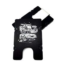 BilletVault Wallet Aluminum RFID protection front pocket Mustang Rat Fink