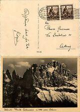 REGNO-Coppia 10c(439) IMPERO-Cartolina(DOLOMITI-Monte Catinaccio) 5.7.1939