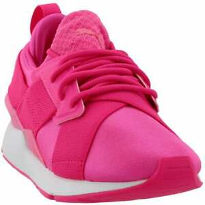 Puma Muse Satin Ep Pearl Womens Running Sneakers Shoes    - Pink