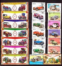 ZY654 GUINEE Rep,Equatorial,Bissau: tous les modèles de voitures anciennes